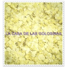 Confeti amarillo curry 1Kg.