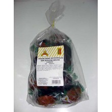 Lozano brown maltitol muffins Box of 7 bags of 9 units.