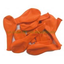 Orange balloons 100u.
