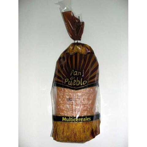 Pan de pueblo Multicereales caja de 6 paquetes de 400 grs.