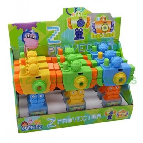Juguete Pop Z-Proyector con golosinas 9 unidades.