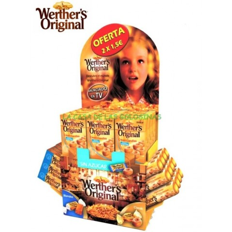 Lote Werther´s  Expositor.