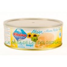 Atún en Aceite de Girasol Ribeira lata 750 gramos.