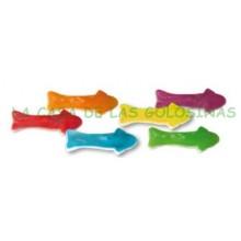 Caramelos de goma Ceconsa - Jake Tiburones brillo bolsa 250 unidades.