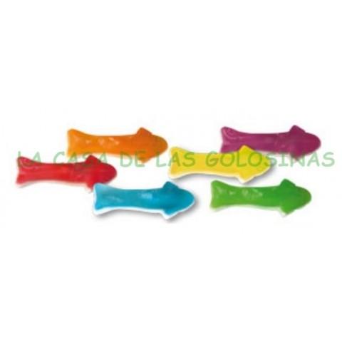 Caramelos de goma Ceconsa Tiburones brillo bolsa 250 unidades.