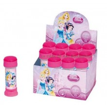 Pompas jabón Princesas 12 unidades.