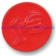 Caramelos de goma Dulcipop Euros brillo monedas bolsa 250 unid.