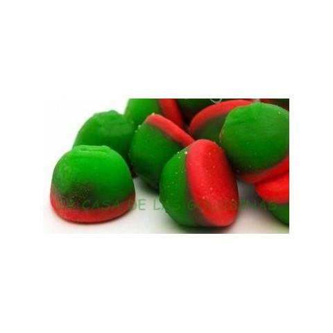 Golosinas rellenas Fresas con nata Fini 125 unidades