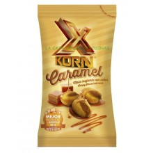 X Korn Caramel XL kikos maize from Sol de Alba carrying case with 12 bags of 100gr.