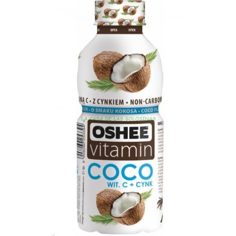 Bebida OSHEE Vitamin Coconut 555 ml. 6u.