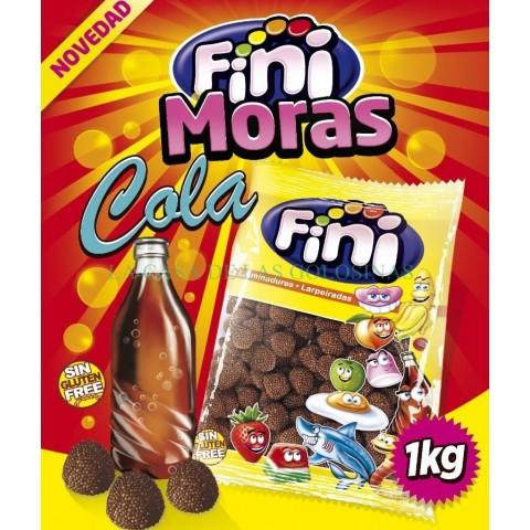 Caramelos de goma Fini Moras grano cola 1kg.