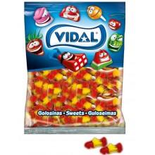 Bolsa caramelos de goma Botas La Roja vidal 250u.