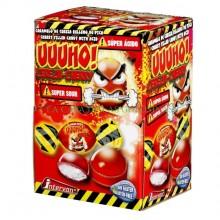 Caramelo UUUHO super ácido Cherry 300u.