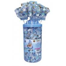 "Azulitos glow lollipop ""Smurfs"" POT 100u."