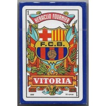 Baraja Naipes Futbol Barcelona 50 cartas 1u.