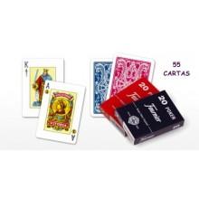 Baraja Naipes Poker Español Nº20 55 cartas 1u.