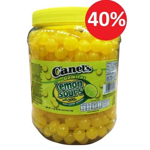 Canels limón caramelo masticable 1,5Kg.