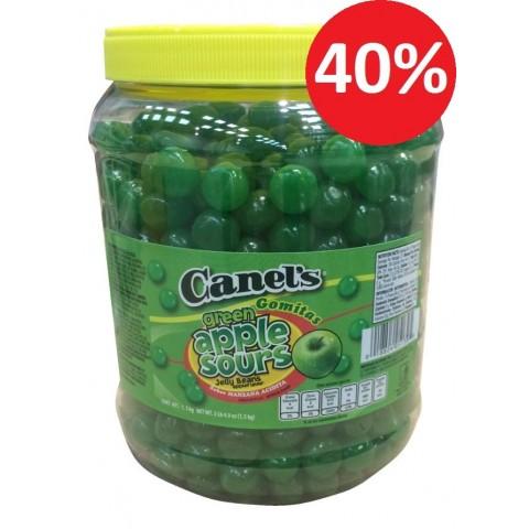 Green apple taffy Canels 1.5 kg
