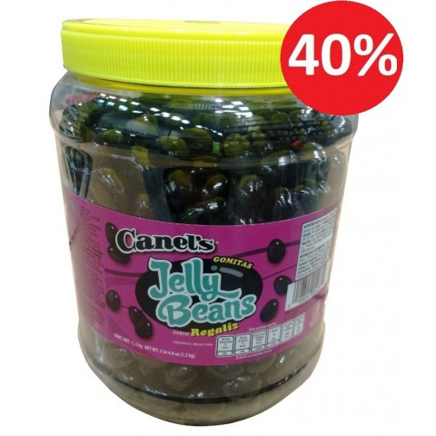 Canels anis regaliz masticables 1,5Kg.