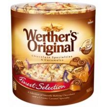 Bote con selección de Bombones Werther's original de 900g.