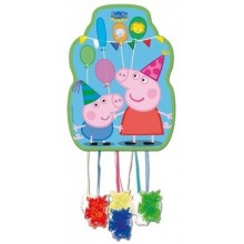Median Pinata Peppa pig.