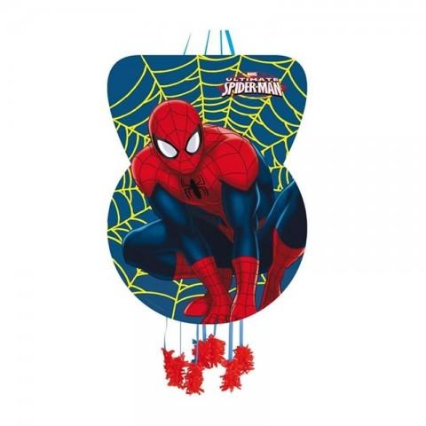 Piñata Grande Spiderman Figura.