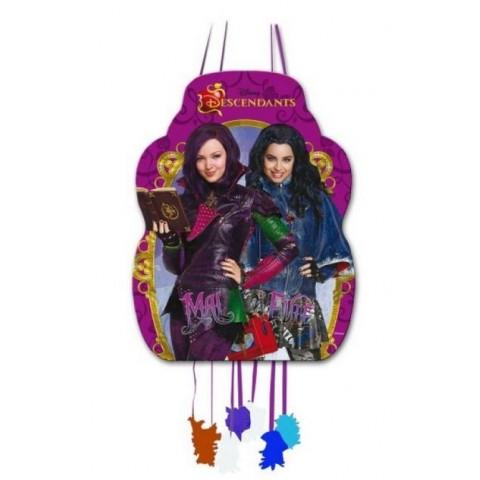 Medium Descendants Piñata Disney.