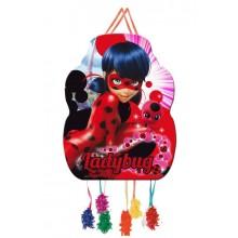 Piñata Mediana Ladybug 1u.