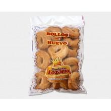 Rollos de huevo de Lozano caja de 6 bolsas de 400 grs.
