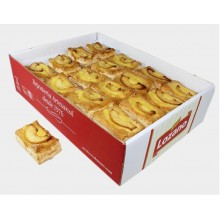 Puff pastry apple tart Lozano box with 2 kg.