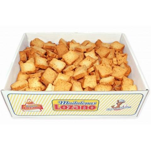 Pan de Canapes  Lozano caja con 1kg.