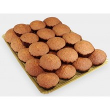 Integral muffins Lozano box of 7 packs of 8 units.