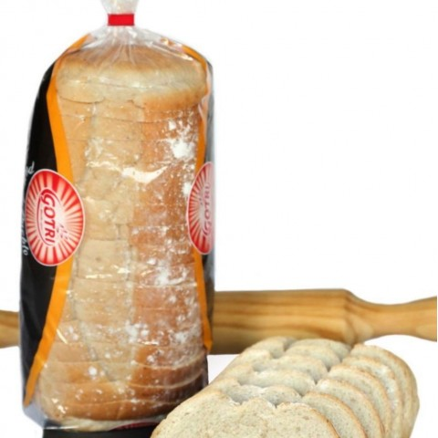Sliced country bread box of 6 packages of 0.400 kg.