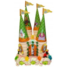S2000 candy castle cake.