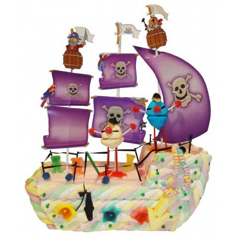 Pirate Ship Cake S2000 goodies.