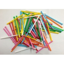 Color pie sticks 100 units.