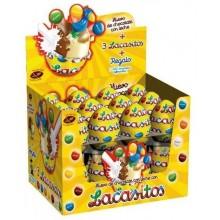 Lacasitos chocolate eggs 24 units.