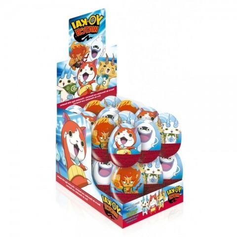 Huevos de chocolate Yo-Kai Watch 24 unidades.