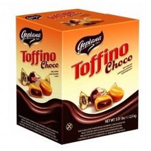 Caramelo de leche relleno de chocolate Toffino 2.5kg.