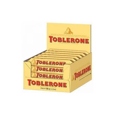 50 grams milkToblerone 20u.