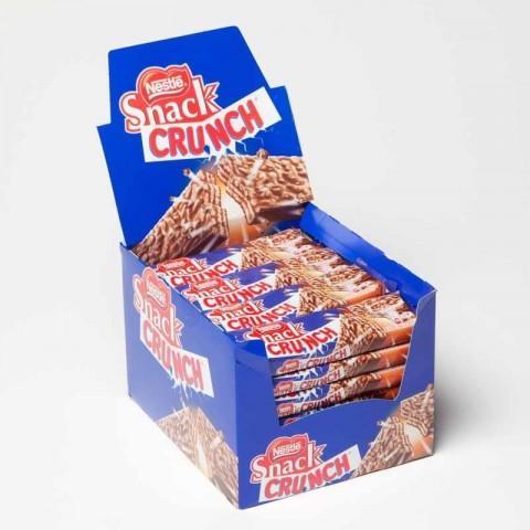 Nestle crunch Snack 28 units.