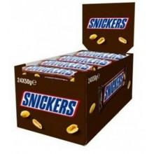 Snickers chocolate bar 24u.