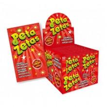 Peta Zetas fresa caja con 50 unidades.