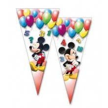 Bolsa cono 50u Mickey Clubhouse Ballons 20x40cm.