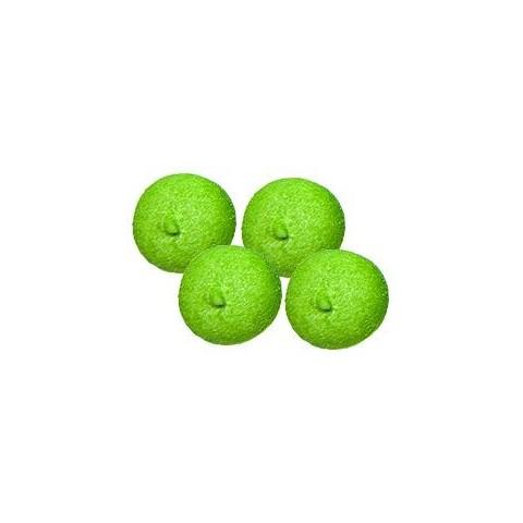 Esponjas bulgari bolas verdes 100 unidades.