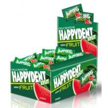 Happydent fruit bubble gum box watermelon flavor