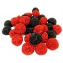 Caramelos de goma Fini Moras grano rojo y negro  1 kg.