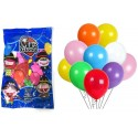 Assorted colored balloons for parties and celebrations 100u.