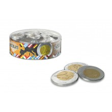 Interdulces chocolate coins 40 mm 185 units.