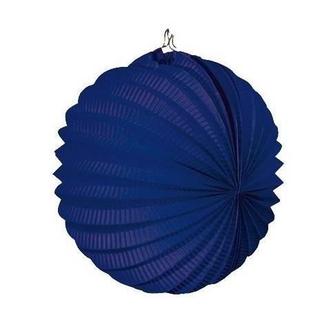 Lantern hanging decoration for festivals blue.